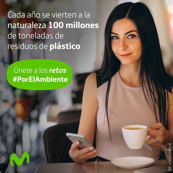 Telefónica | Movistar demuestra su compromiso con el medioambiente con acciones verde