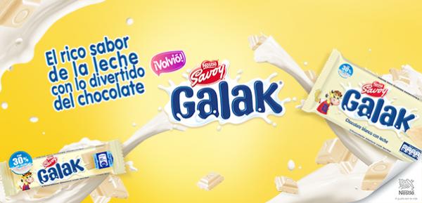 El chocolate blanco GALAK vuelve para deleitar a los venezolanos