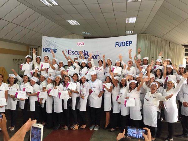 La Escuela del Sabor de Nestlé Venezuela culminó el 2017con la Graduación de sus Emprendedoras