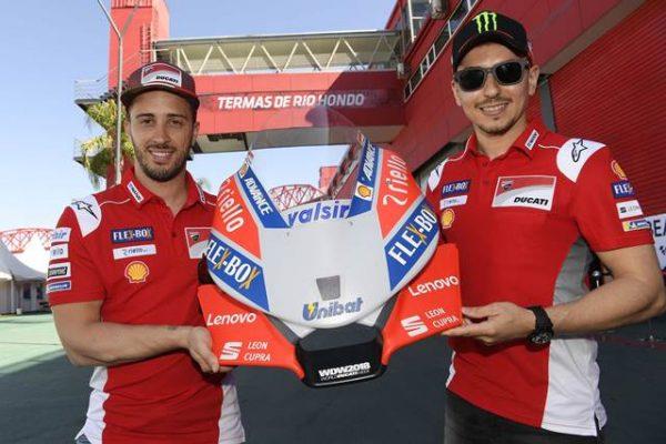 Lenovo se une al team Ducati Mogo GP como socio tecnológico
