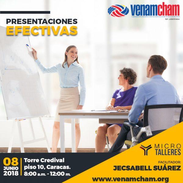 VenAmCham ofrecerá Micro-Taller de Presentaciones Efectivas