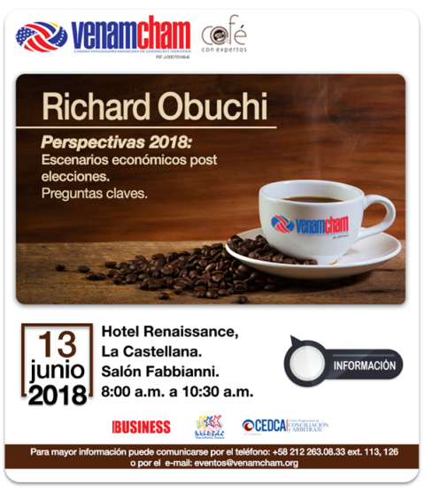 Café con expertos tratará posibles escenarios económicos para el resto del año