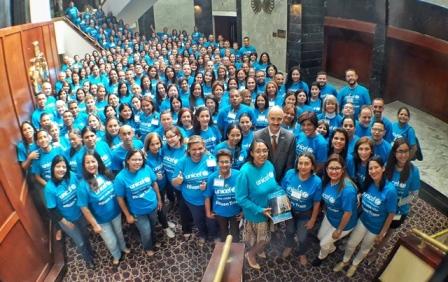 UNICEF y ASONACOP presentes en el Encuentro Nacional de Consejeros y Consejeras de Protección de Niños, Niñas y Adolescentes