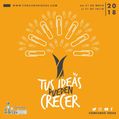 Concurso Ideas 2018 inicia sus inscripciones