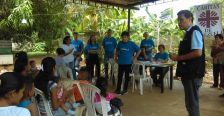 Fundación Bancaribe RSC entregó aporte a la AC Cáritas de Venezuela