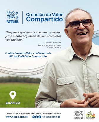 Nestlé Venezuela da a conocer sus historiasde Creación de Valor Compartido