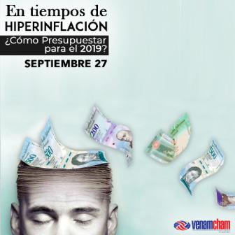 VenAmCham celebrará seminario para presupuestar