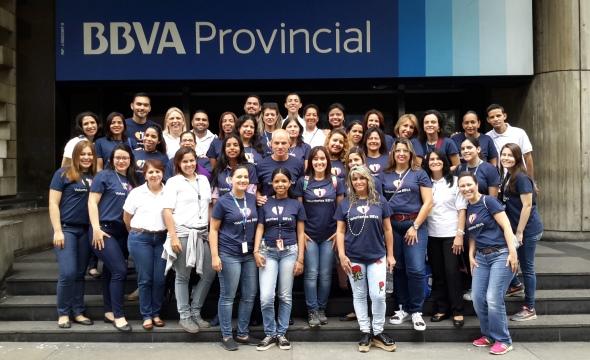 BBVA Provincial brinda solidaridad en la Semana Global del Voluntariado
