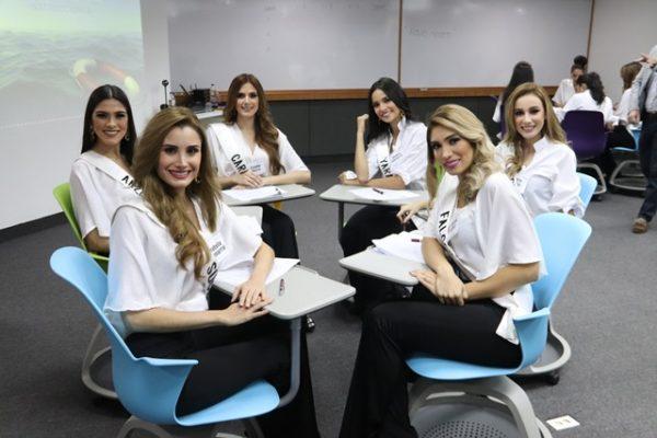 Candidatas al certamen Miss Venezuela 2018 reciben formación sobre emprendimiento de la mano de IESA