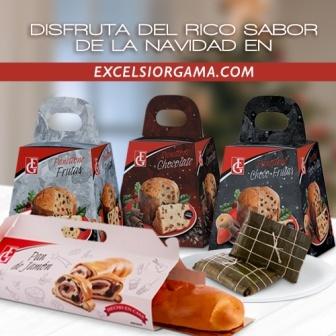 Excelsiorgama.com ofrece a sus clientes sabor a Navidad con productos marca Excelsior Gama