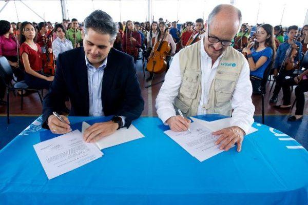 El Sistema renueva su compromiso comoEmbajador Nacional de Buena Voluntad de UNICEF