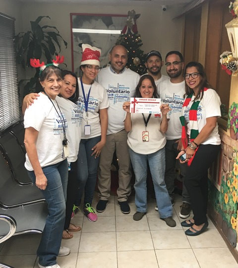 Marsh Venezuela lleva la alegría de navidad a los niños de la Fundación Amigos del Niño con Cáncer