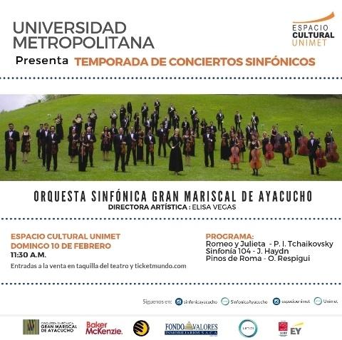 Unimet presenta temporada de conciertos sinfónicos
