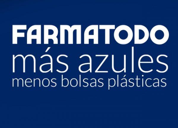 Farmatodo más azules y menos bolsas plásticas