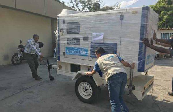 UNICEF intensifica su apoyo a la niñez venezolana ante la contingencia de energía eléctrica