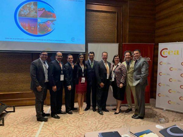 Venezolanos presentes en el XIII Congreso Internacional de Arbitraje