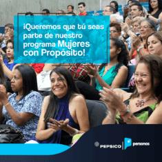 PepsiCo Venezuela invita a las venezolanas a formar parte de su programa Mujeres con Propósito 2019