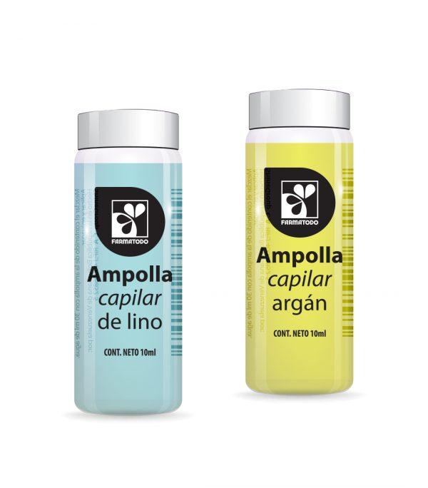 Farmatodo pone a tu disposición las ampollas capilares de Lino y Argán
