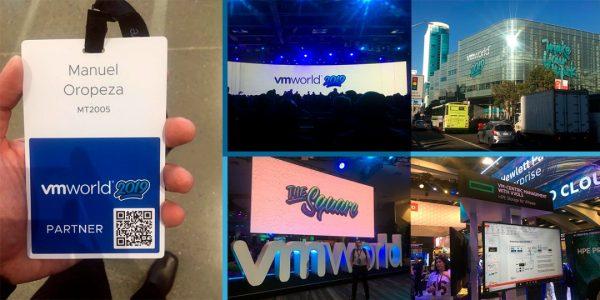 MT2005 estuvo presente en el #VMworld2019 San Francisco