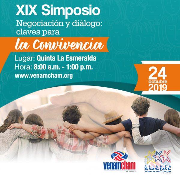XIX SIMPOSIO DE RESPONSABILIDAD SOCIAL EMPRESARIAL Negociación y diálogo: claves para la convivencia