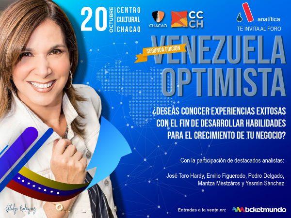 Venezuela Optimista vuelve para potenciar capacidades y metas