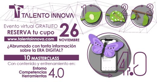 Bienvenid@ a Talento Innova 2019