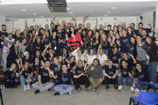 Fundación Telefónica Movistar y Fundación Plaza's benefician a 250 niños del Hospital Pediátrico San Juan de Dios con una comida solidaria