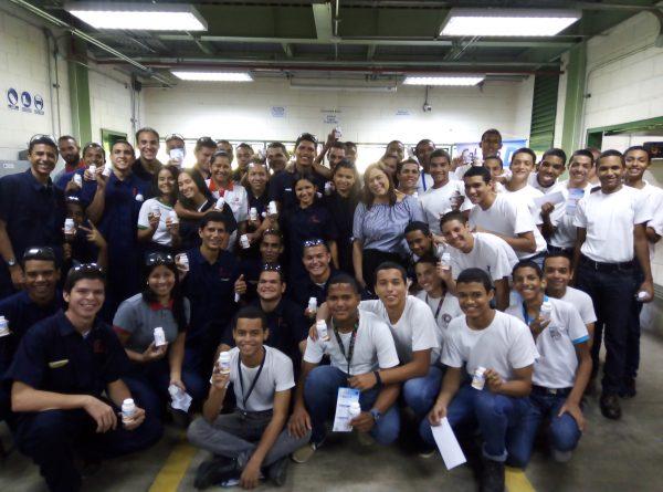 La Huella Educativa de Laboratorios Farma impactó al Instituto Venezolano Suizo Henri Pittier