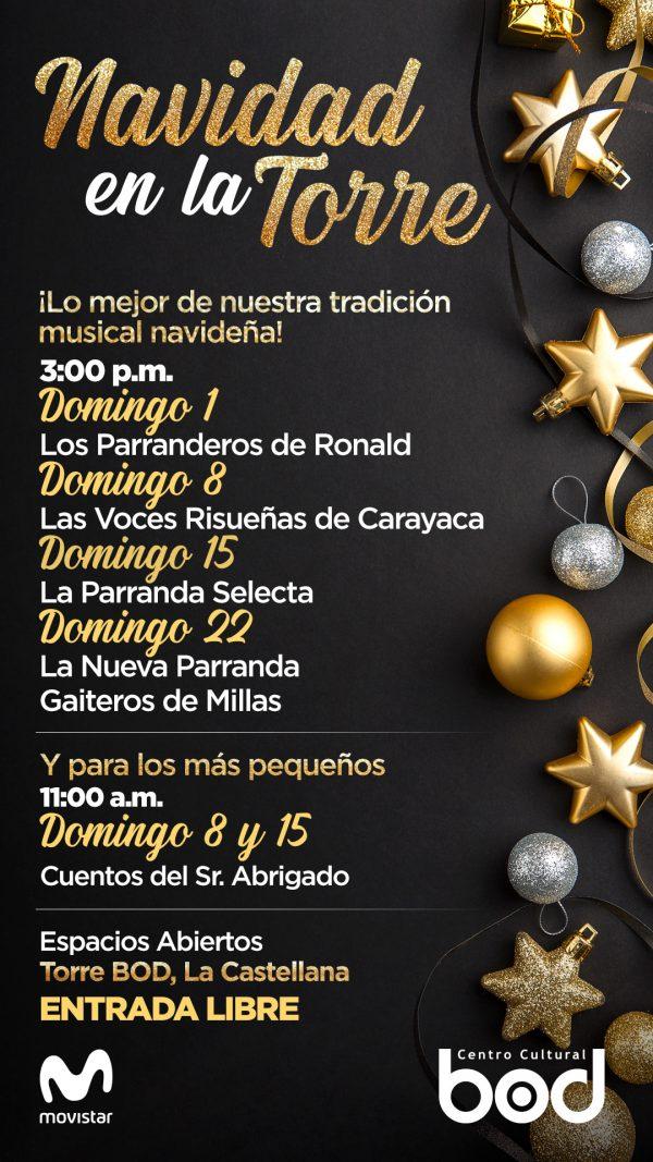 Movistar patrocina nutrida agenda musical para el mes de diciembre
