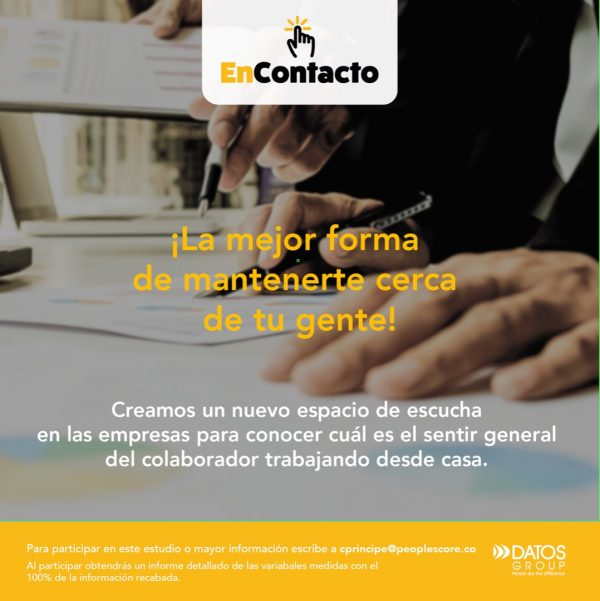 DATOS GROUP presenta su estudio online EnContacto