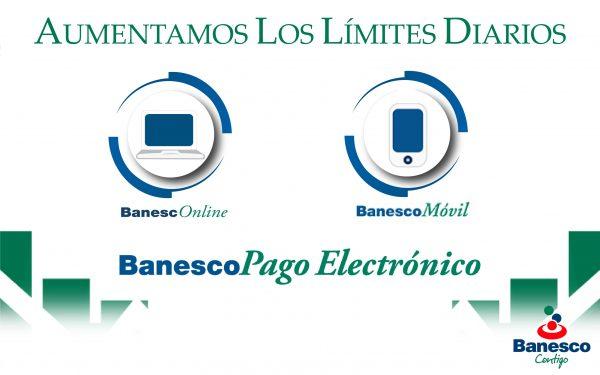 Banesco aprueba nuevos límites para transacciones diarias