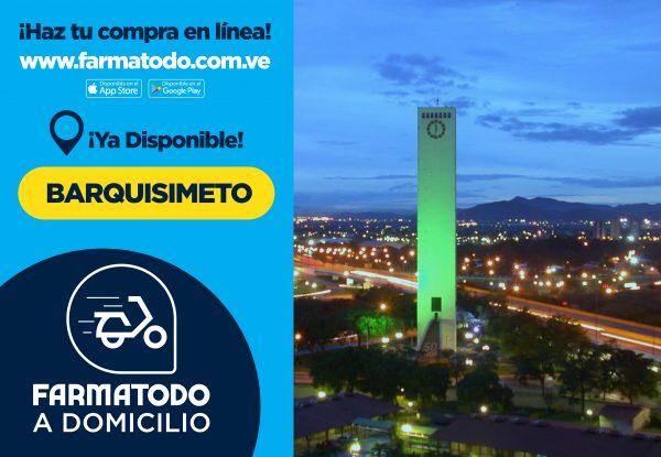 Farmatodo extiende su servicio Delivery a Barquisimeto