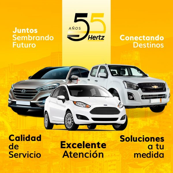 Hertz Venezuela arribó a sus 55 años