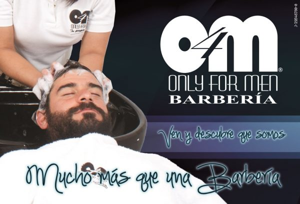 18 años Only For Men Barberia