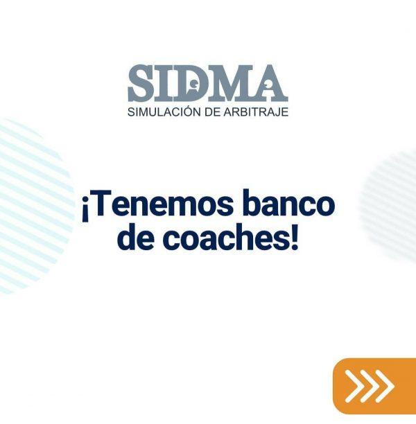 Banco de Coaches de la Competencia SIDMA