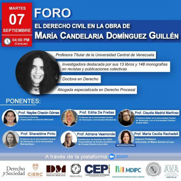 El Derecho Civil en la Obra de María Candelaria Domínguez Guillén
