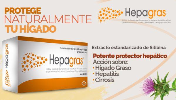 Hepagras® protege y regenera las células del hígado