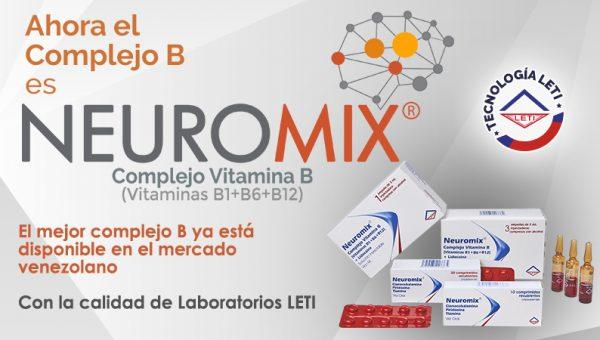 Neuromix se estrena en el mercado venezolano con precios accesibles
