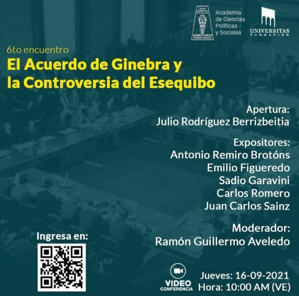 6to El Acuerdo de Ginebra y la Controversia del Esequibo